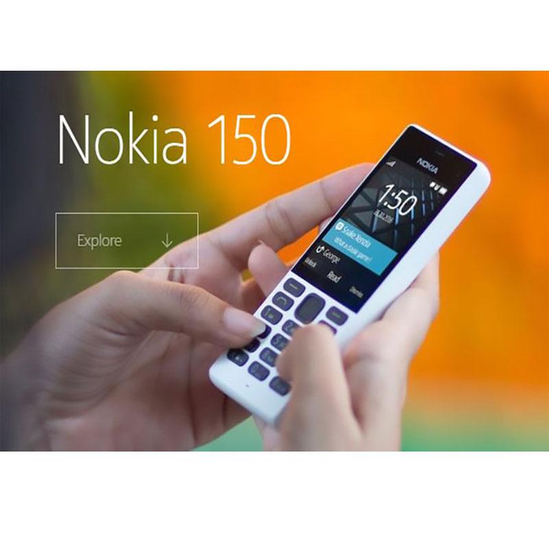 Nokia ritorna sul mercato dei cellulari con un anti smartphone for Cellulari 150 euro