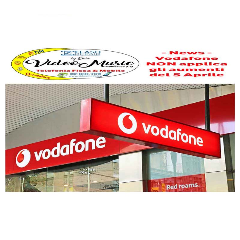 Modifica Offerta Vodafone – Non ci saranno aumenti