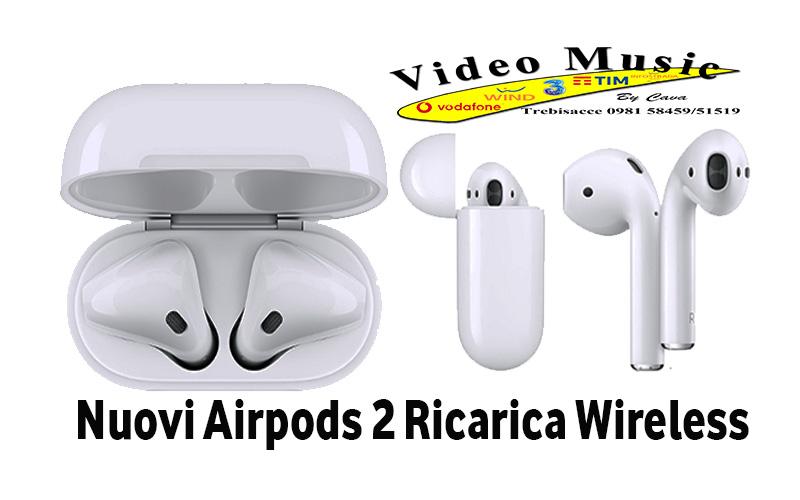 AirPods Apple di seconda Generazione già disponibili